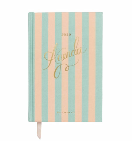Rifle Paper Co. 2020 Cabana 12-Month Agenda