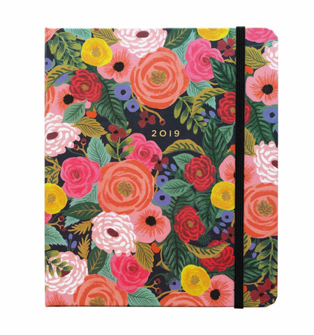 Rifle Paper Co. 2019 Juliet Rose Everyday 17-Month Planner