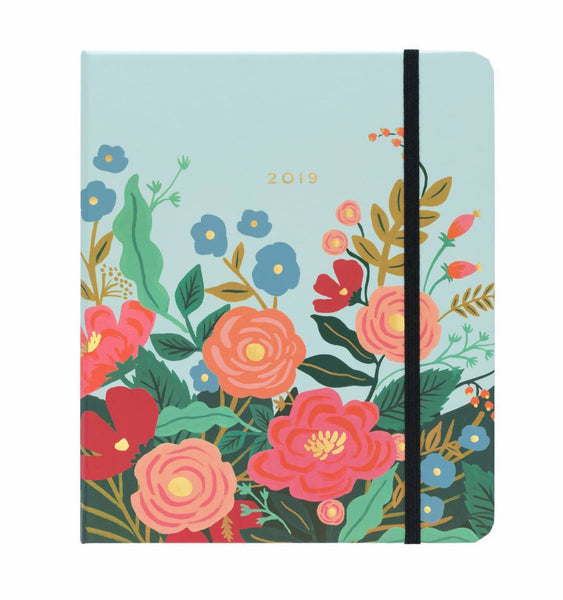 Rifle Paper Co. 2019 Floral Vines Everyday 17-Month Planner - HUEBOW