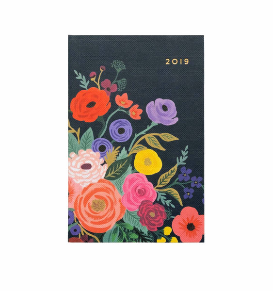 Rifle Paper Co. 2019 Juliet Rose Pocket Agenda - HUEBOW
