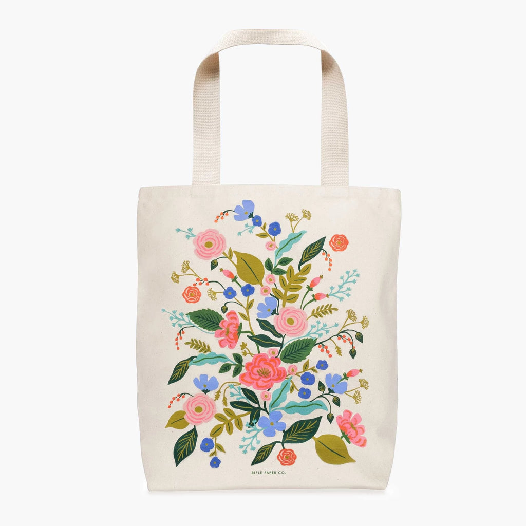 Rifle Paper Co. Floral Vines Tote Bag