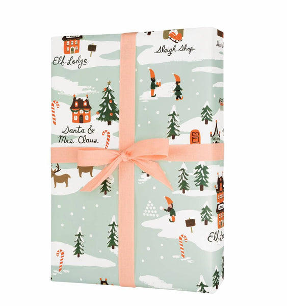 Rifle Paper Co. North Pole Christmas Wrap - HUEBOW