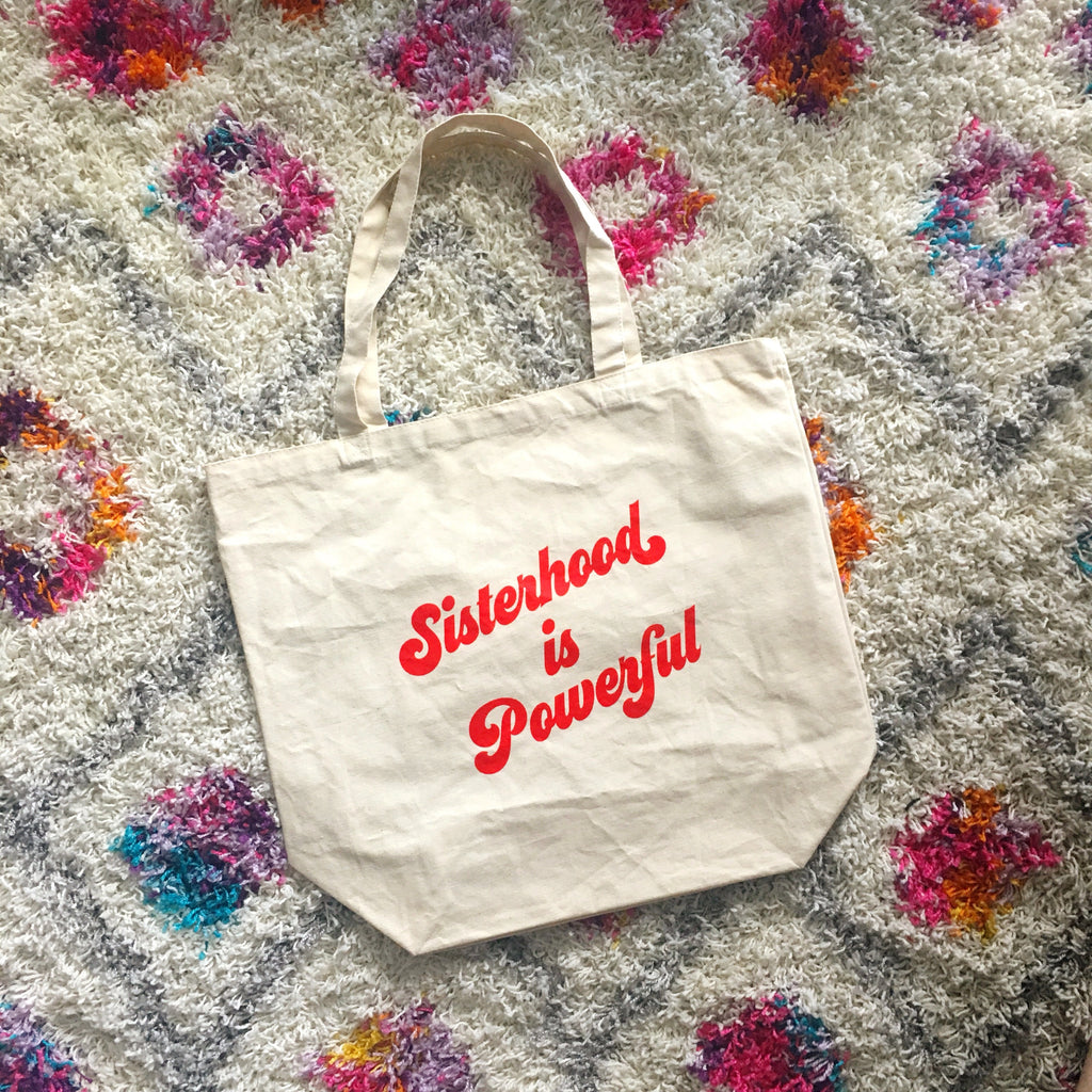 Sisterhood is Powerful Tote Bag