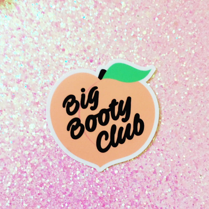 Big Booty Club Sticker