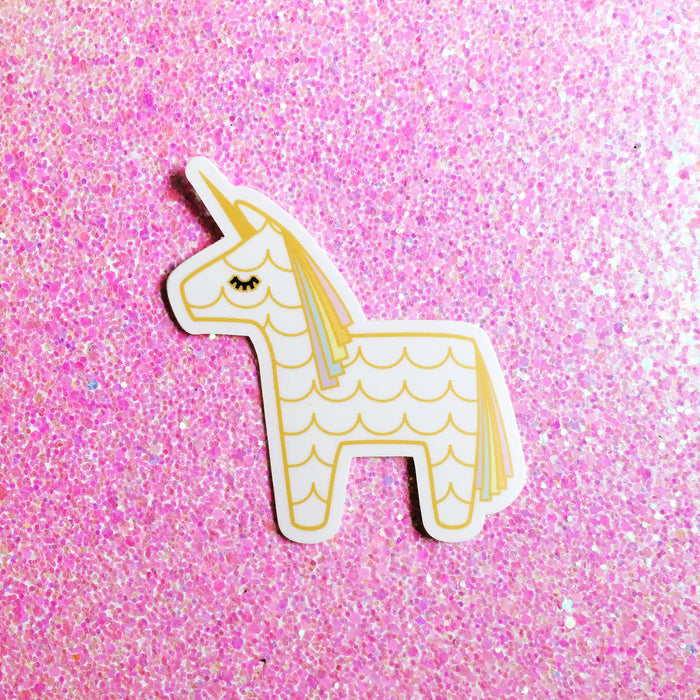 Unicorn Pinata Sticker