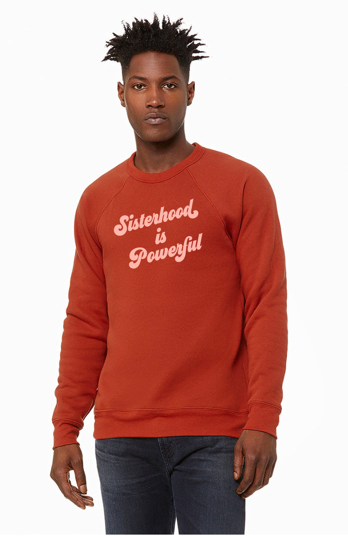 PREORDER Sisterhood is Powerful Brick Sweatshirt