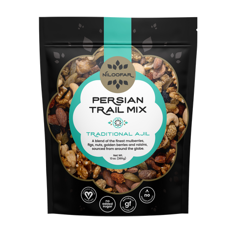Persian Trail Mix - Traditional Ajil - 13 OZ