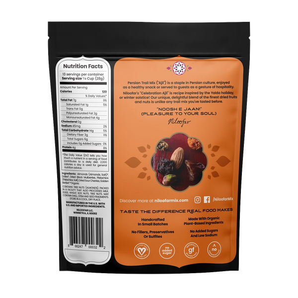 Persian Trail Mix - Celebration Ajil - 13 OZ