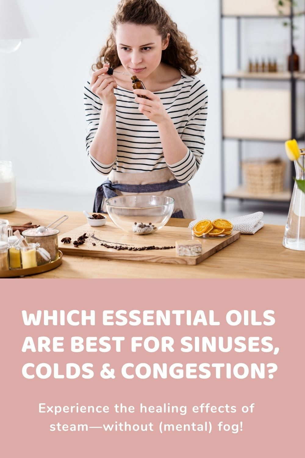Which Essential Oils are Best for Sinuses, Colds, & Congestion?