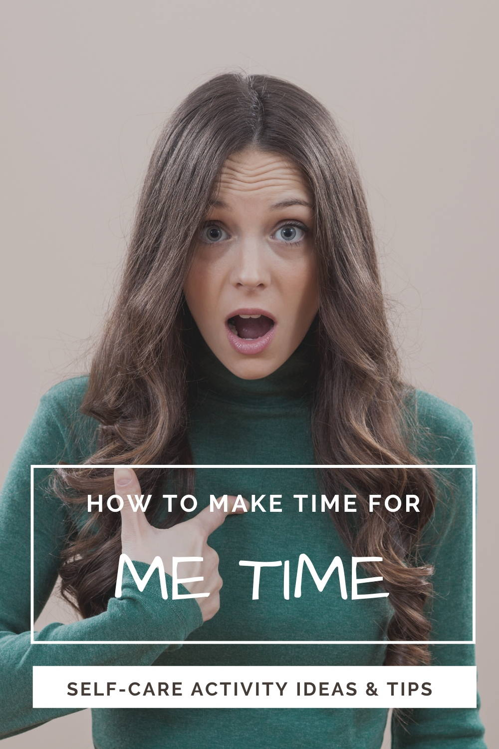 How to Make Time for Me Time