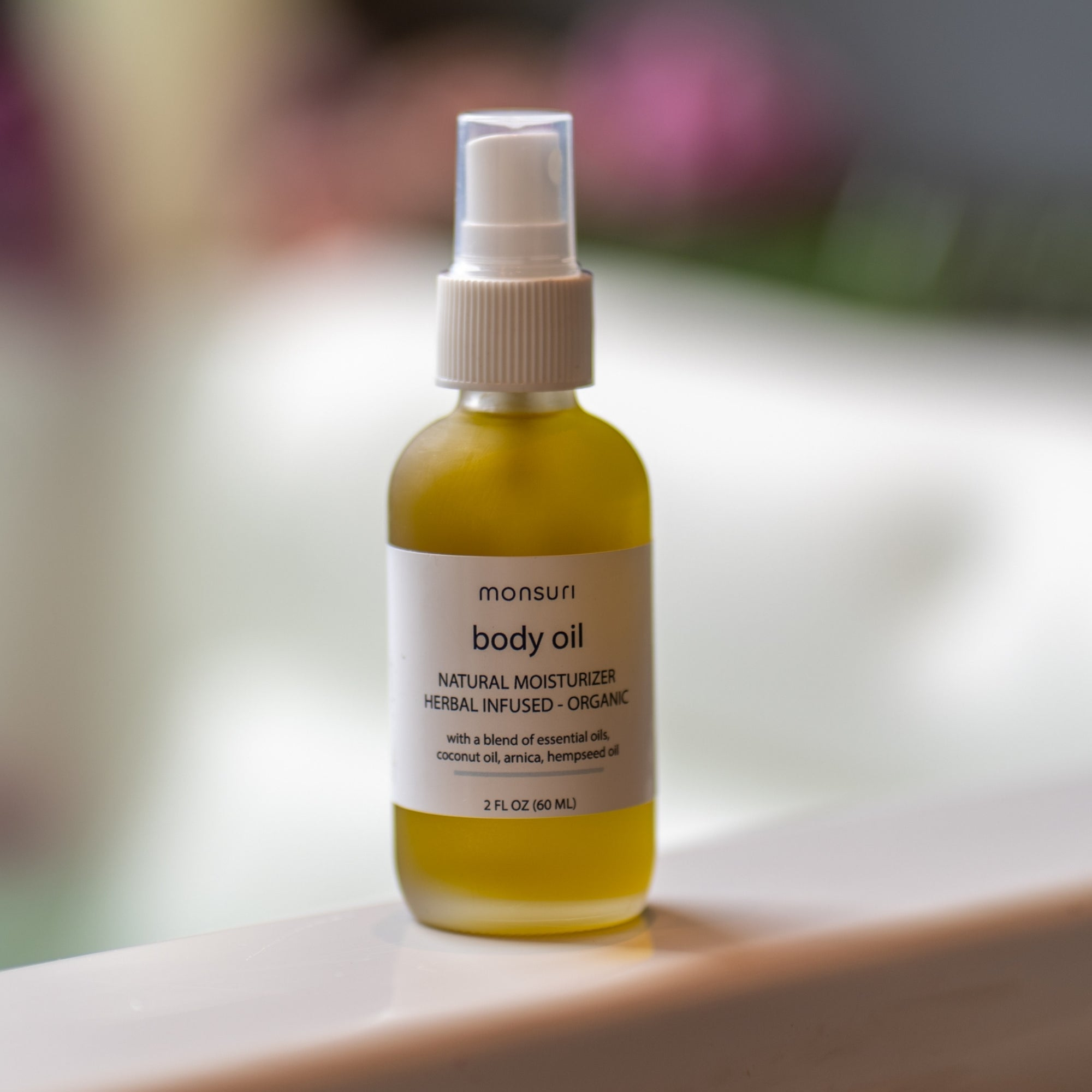 Organic Body Oil for Women for an Aromatherapy Self-Care Experience.