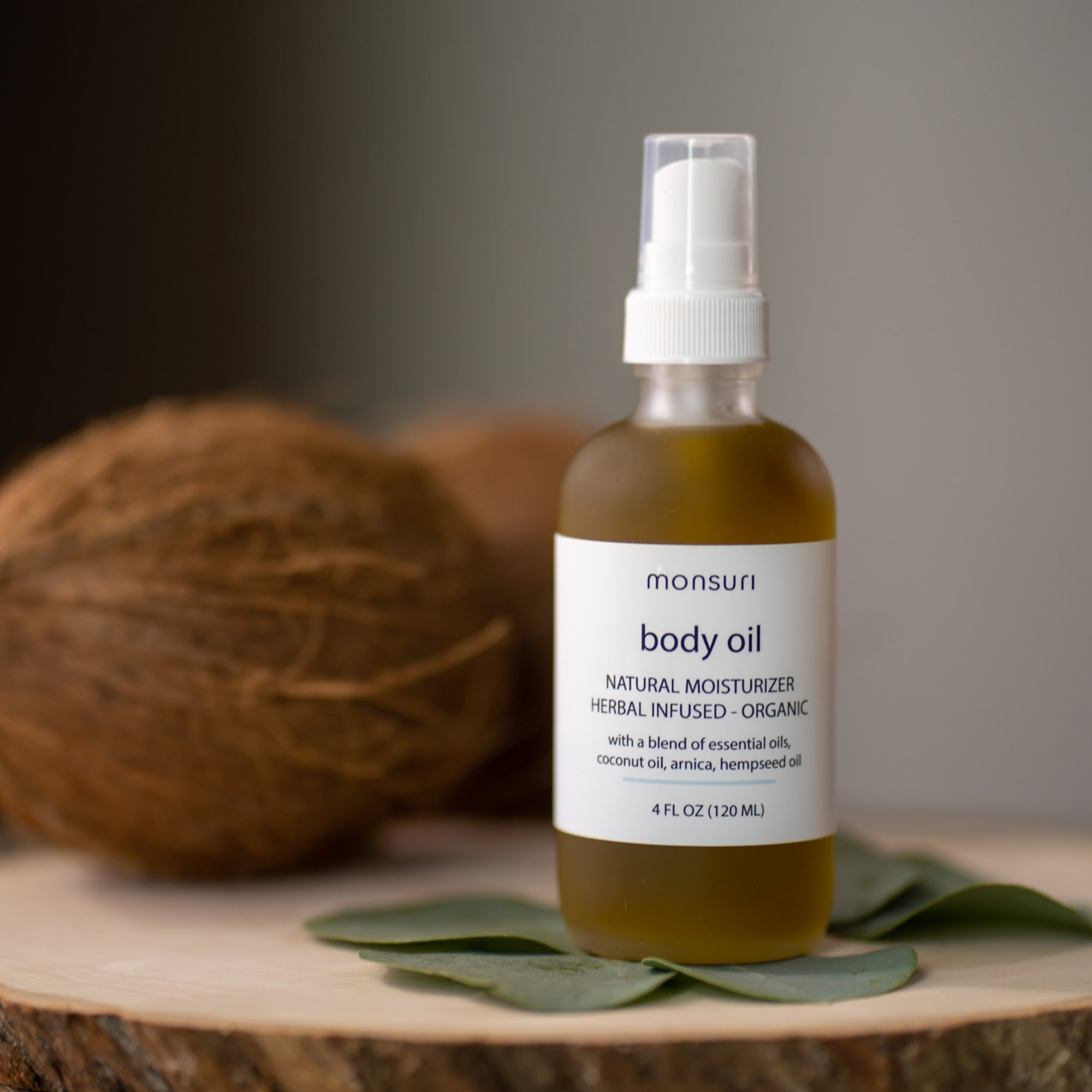 Aromatherapy massage body oil for skin - self-care gift ideas