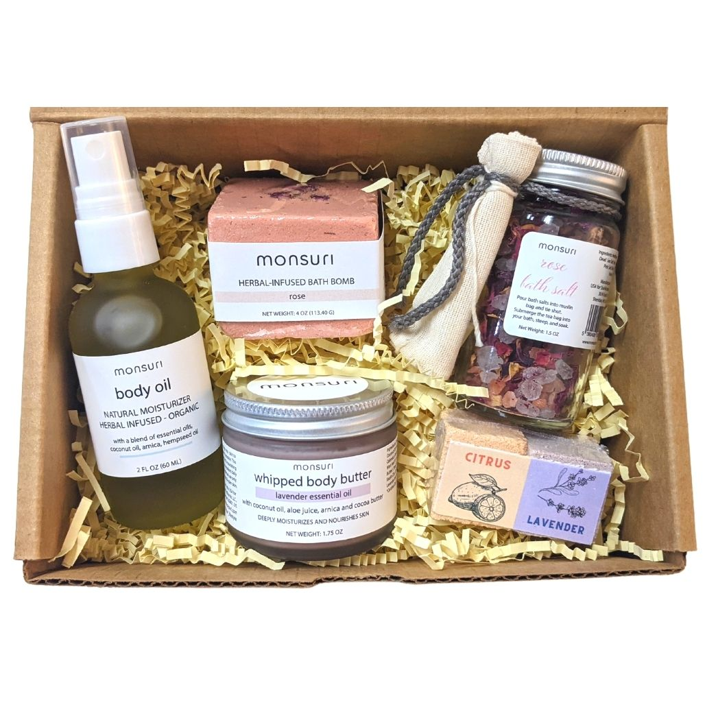Care Package Gift Baskets for Self-Care