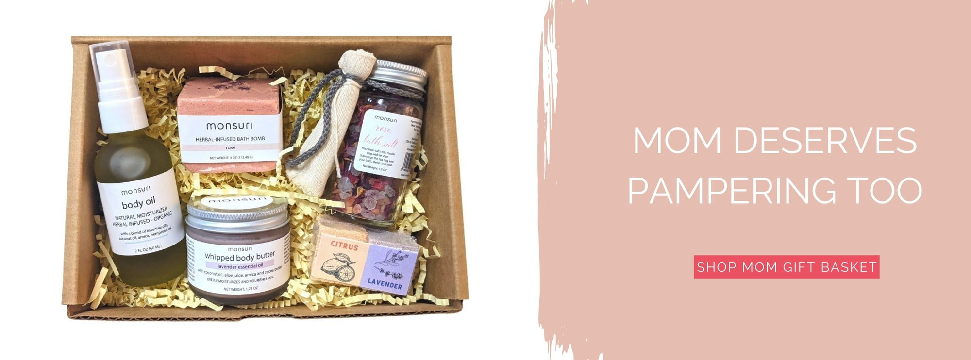 Mom Gift Basket - Care Package for Self-Care