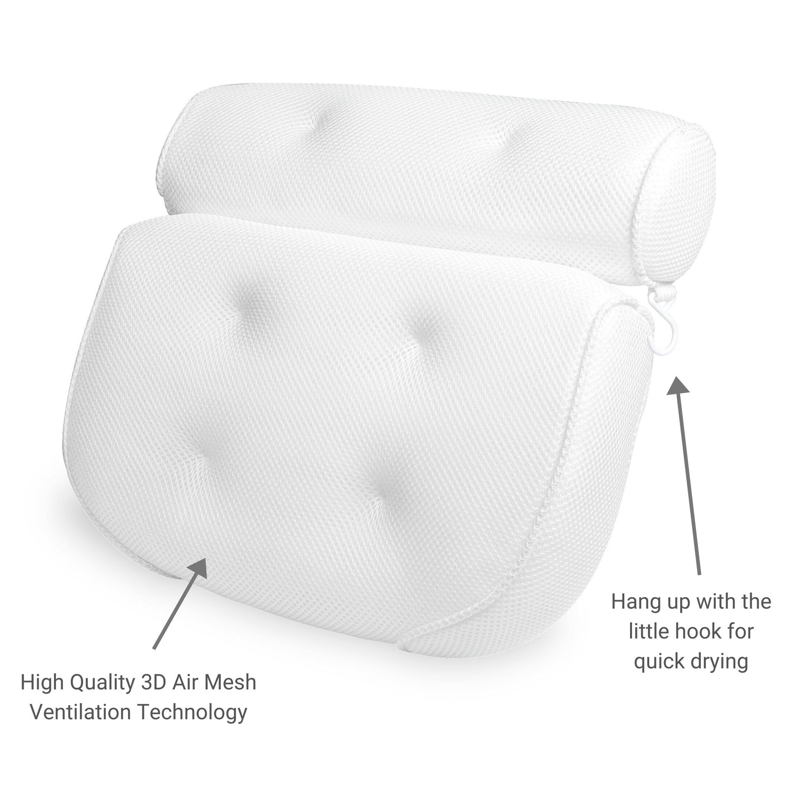 Bath Pillow for Tub At Home Spa