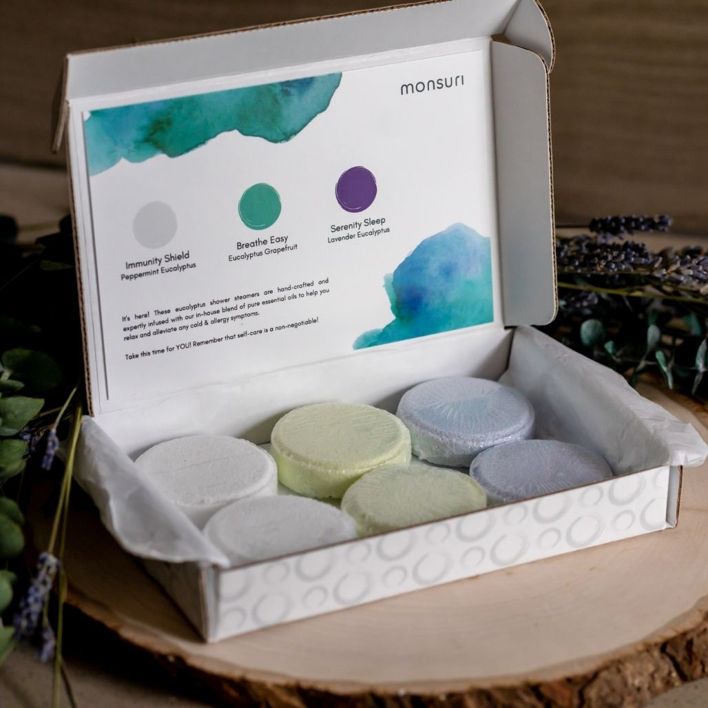 Vapor Shower Tablets at-Home Spa Gifts for Woman and Mom.