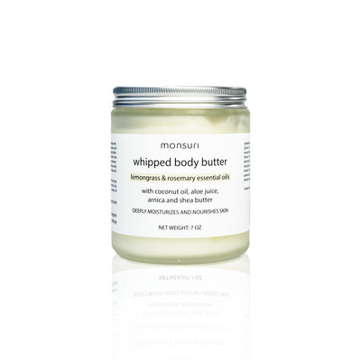 Lemongrass & Rosemary Body Butter