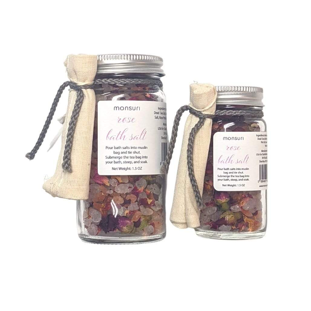 Rose Bath Salts for Women - Relaxing Gift Ideas for Self-Care