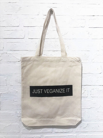 Just Veganize It Tote Bag