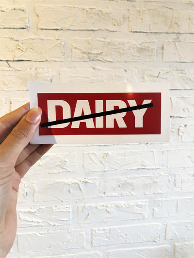No Dairy Bumper Sticker