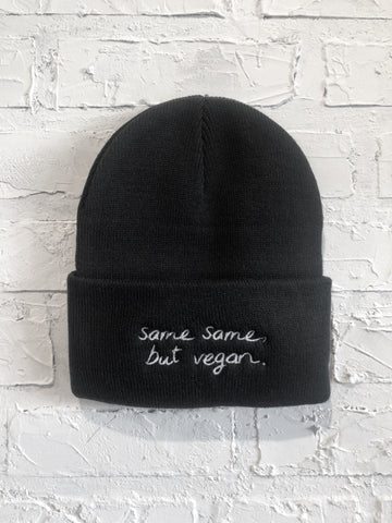 Same Same, But Vegan Toque 2.0