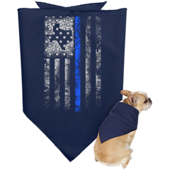 Texas Blue Line - Doggie Bandana