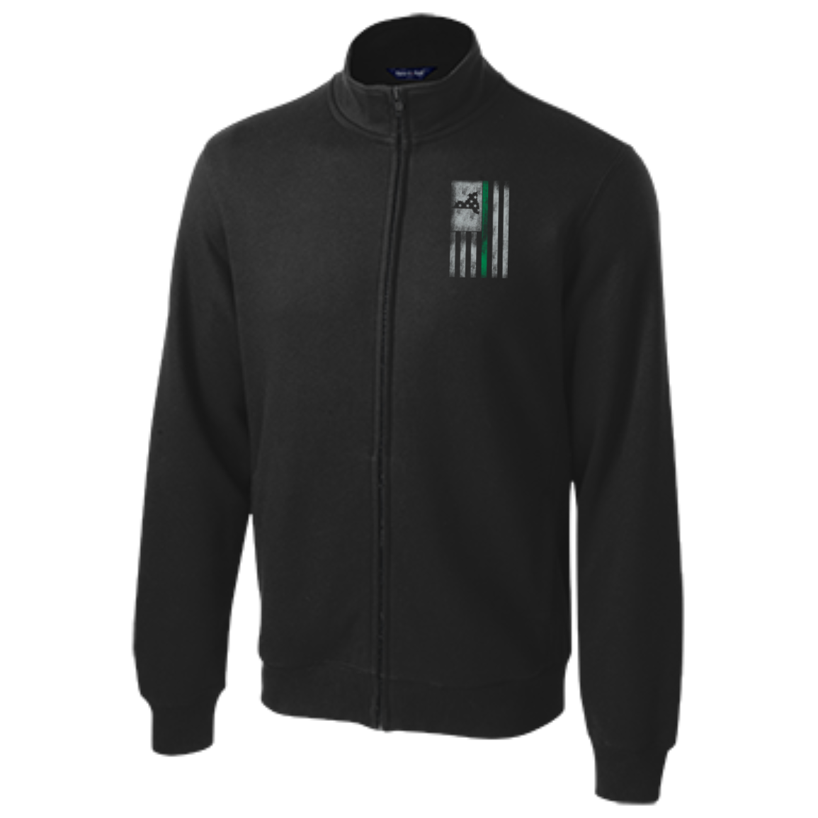 New York Thin Green Line - Tall Full-Zip Sweatshirt