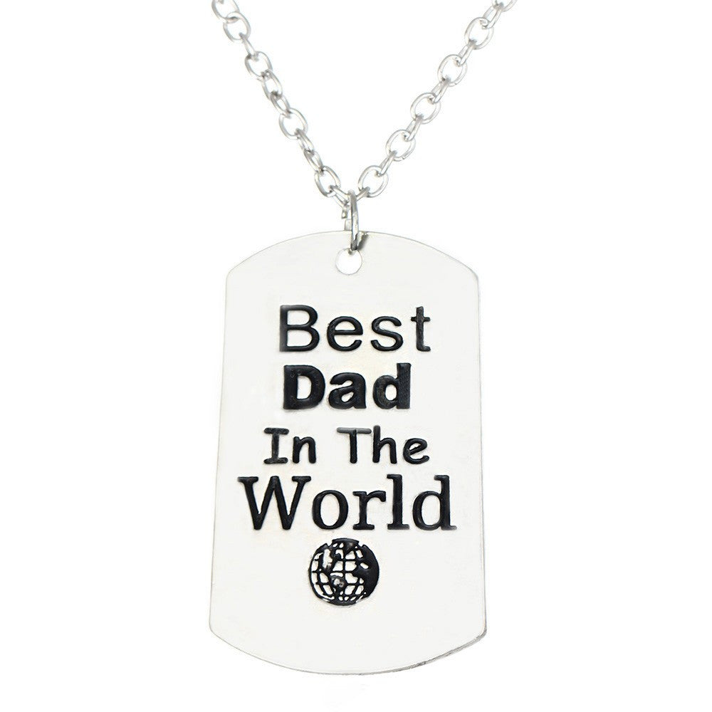 Dad Pendant Necklace Offer