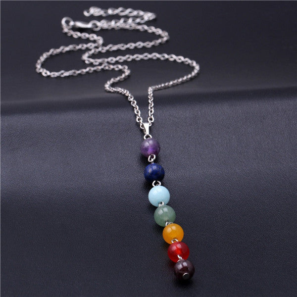 Yoga Long Tassel Chain Necklace