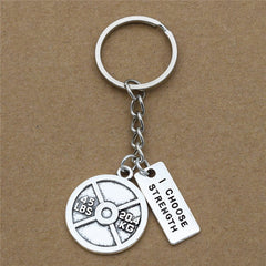 Fitness Gym Keychain Offer