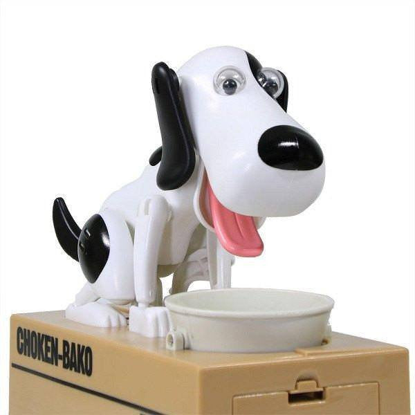 Cute Moving Doggie Coin Banks