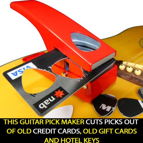 DIY GUITAR PLECTRUM PUNCH CUTTER