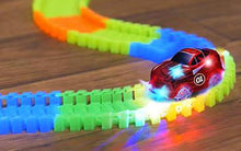Glow in the Dark Racing Set for Kids