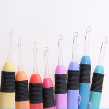 Light Up Crochet Hooks - 8 Piece Set