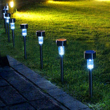 Solar Powered Pathway Lights (10 Pack)