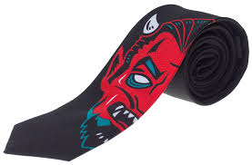 Sourpuss Devil Tie - Forever Tattooed