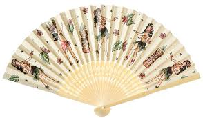 Sourpuss Hula Gal Fan - Forever Tattooed
