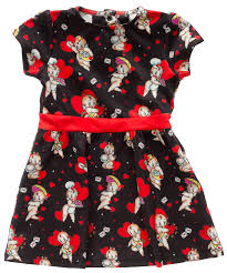 Sourpuss Kewpids Kids Dress - Forever Tattooed
