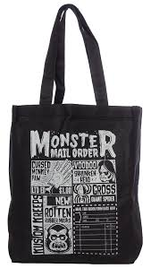 Sourpuss Monster Mailorder Tote - Forever Tattooed