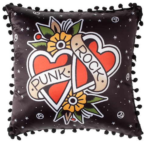 Sourpuss Punk Rock Pillow - Forever Tattooed