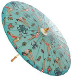 Sourpuss Tattooed Divers Parasol - Forever Tattooed