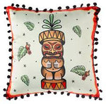 Sourpuss Tiki Totem Pillow - Forever Tattooed