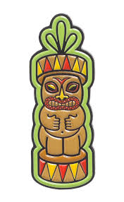 Sourpuss Tiki Totem Pin - Forever Tattooed