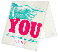 Sourpuss Dishes Dish Towel - Forever Tattooed