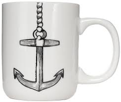 Sourpuss Nautical Anchor Mug - Forever Tattooed