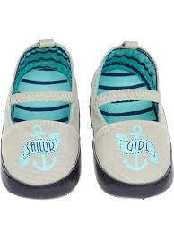 Sourpuss Sailor Mary Jane Kid Shoes - Forever Tattooed