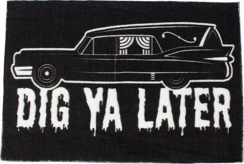 Dig Ya Later Rug - Forever Tattooed