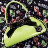 SOURPUSS JINX FLOOZY PURSE GREEN - Forever Tattooed