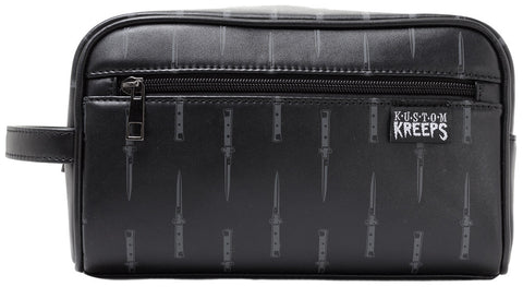 Sourpuss Switchblades Toiletry Bag - Forever Tattooed