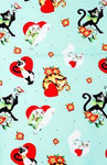 Sourpuss Lovecats Scarf - Forever Tattooed